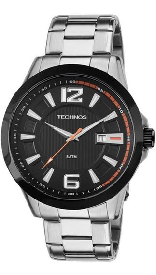 Relógio Technos Masculino Racer 2115knv/1p Aço Oferta