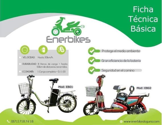 ¡motocicletas 100% Eléctricas! No Gastes En Gas.