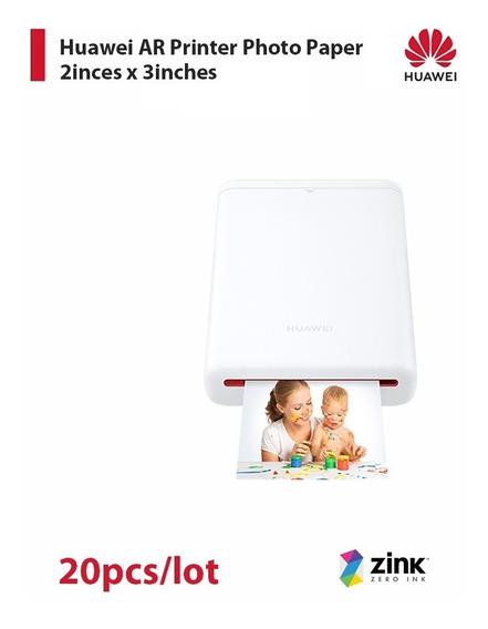 Papel Foto Para Impressora Huawei Ar 20 Pçs / Lote