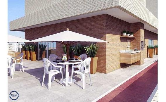Apartamento Com 2 Dorms, Estuário, Santos, Cod: 16734 - A16734
