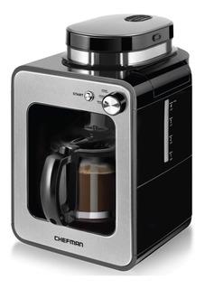 Chefman Grind And Brew Maker Grinder Cafetera Molino 4 Tazas