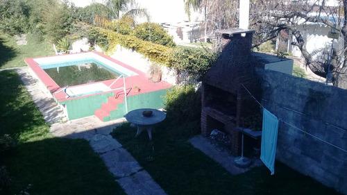 4 Dorm Jardin Piscina Parrillero Servicio Lavadero Garage