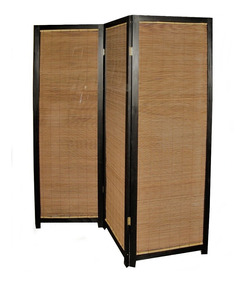 Biombo Bambú - 3 Hojas - T Tot 195 X 180 Cm