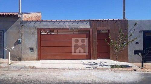 Imagem 1 de 14 de Casa Com 2 Dormitórios À Venda, 47 M² Por R$ 190.000,00 - Jardim Cristo Redentor - Ribeirão Preto/sp - Ca1084