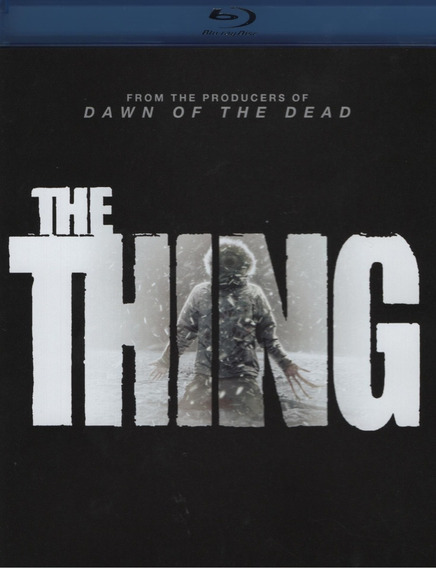 La Cosa The Thing 2011 Pelicula Blu-ray