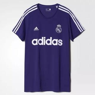 Camisa Real Madrid adidas Retrô Roxa Masculina Oficial