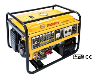 Banmotors Grupo Electrogeno Generador Electrico Naftero 5,5 Kva Llave