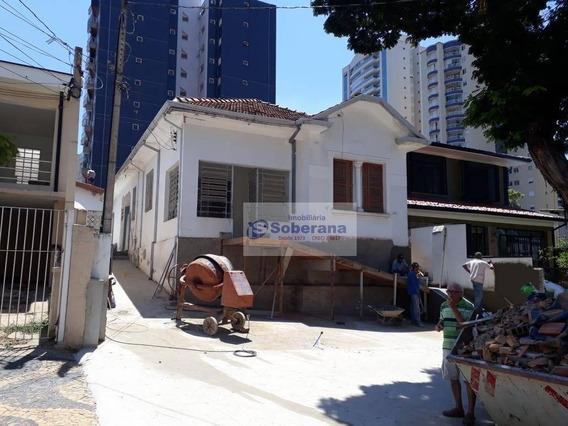 Casa Para Alugar, 200 M² Por R$ 4.000,00/mês - Vila Itapura - Campinas/sp - Ca3532