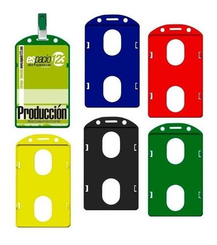 Porta Carnet Vertical Plastico Identificacion