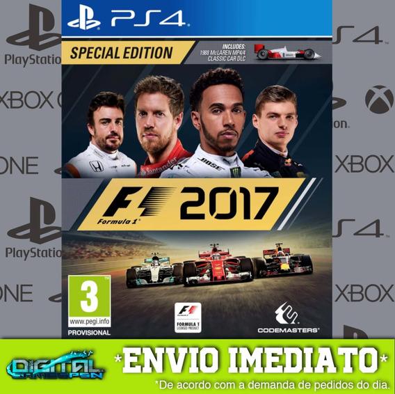 Formula 1 2017 Psn Jogo Envio Rapido! Midia Digital Ps4