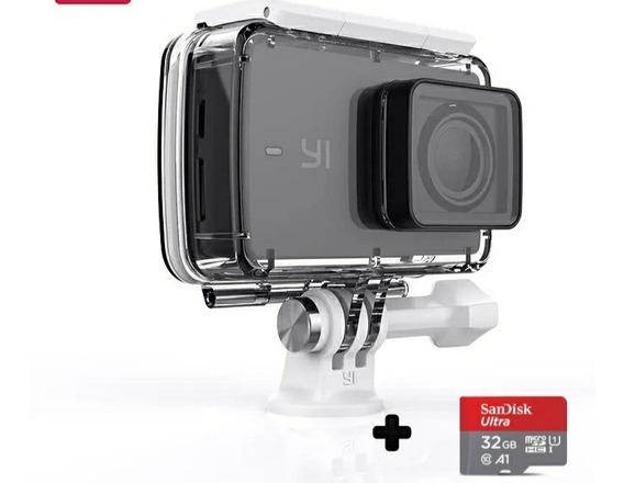 Promoção Kit Xiaomi Yi Discovery 4k + Acessórios +32gb