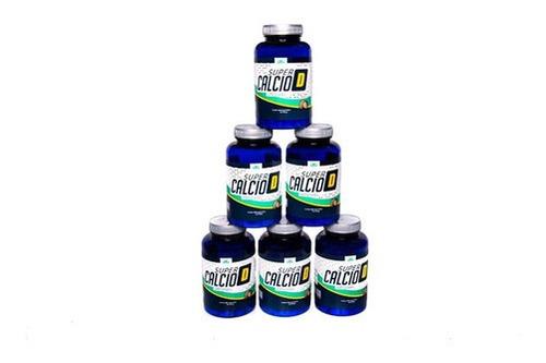 Imagem 1 de 5 de Previna A Osteoporose Com Super Cálcio D Kit Com 06 Unidades