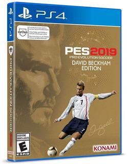 Pes 2019 David Beckham Edition Pro Evolution Soccer Ps4 Nuev