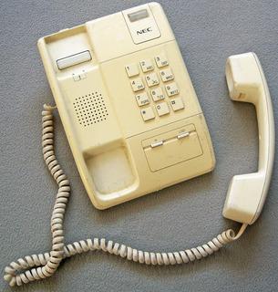 Teléfono Retro Alámbrico Marca Nec