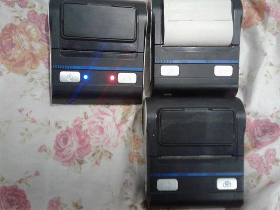 Lote De 03 Impressoras Térmica Bluetooth 80mm Com Defeito