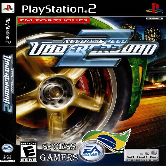 Need For Speed Underground 2 Ps2 Português Patch Portugues