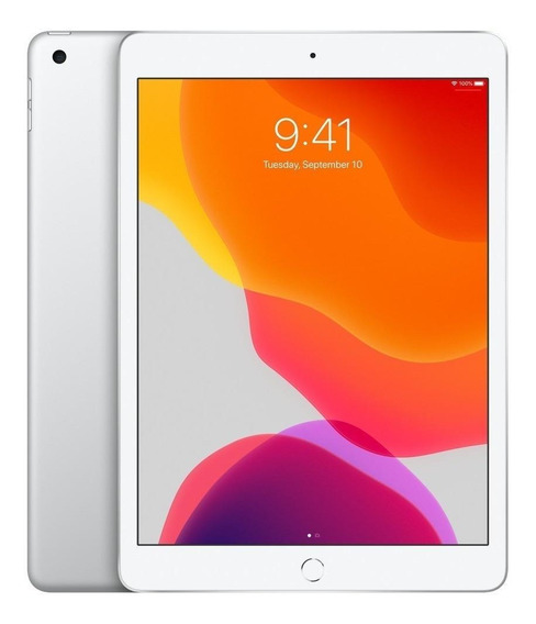 "iPad Apple 7ª Generación 2019 A2197 10.2"" 32GB silver com memória RAM 3GB"