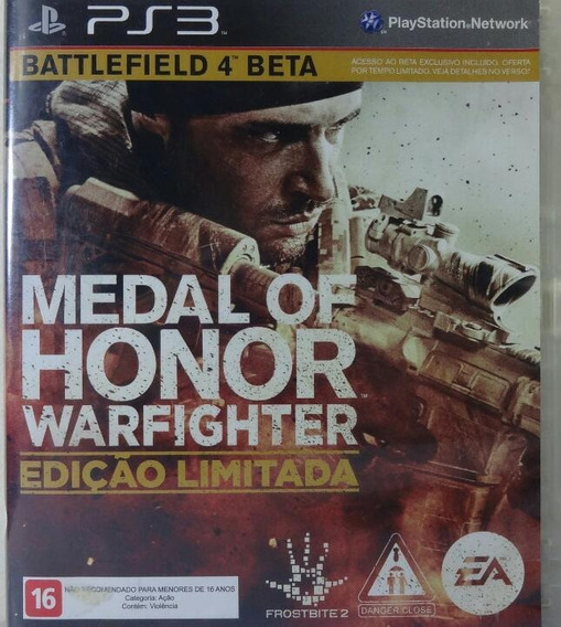 Jogo De Ps3 Medal Of Honor Warfighter Em Mídia Física