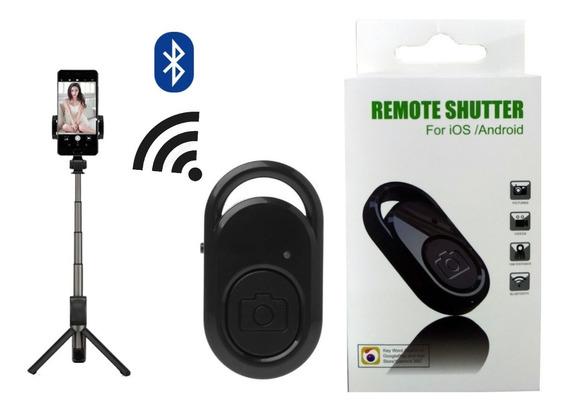 Disparador De Selfie Controle Remoto Bluetooth Até 10metros