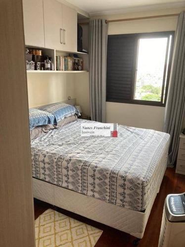 Apartamento À Venda, 82 M² Por R$ 587.000,00 - Santana - São Paulo/sp - Ap8256