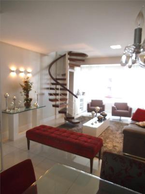 Cobertura Com 3 Dormitórios À Venda, 212 M² Por R$ 650.000 - Candeal - Salvador/ba - Co0006
