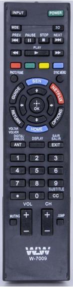 Kit 10 Uni Controle Remoto Lcd Sony Ref:7009