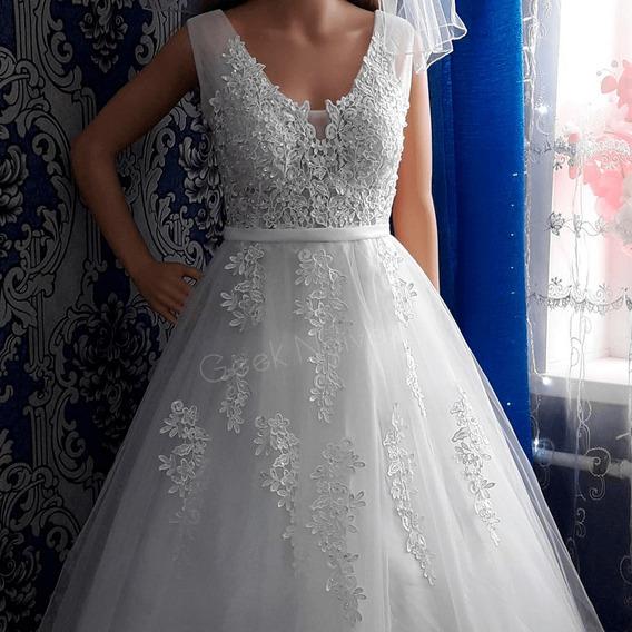 Vestido De Noiva - Geek Noivas Isis (pronta Entrega)
