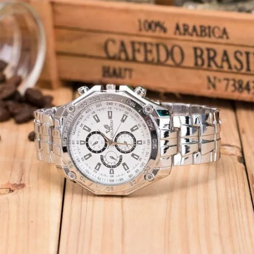 Relógio Masculino Orlando Em Aço