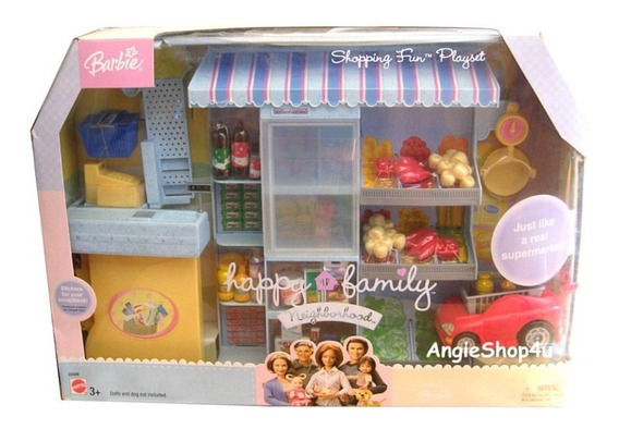 Supermercado Shopping Barbie Happy Family ! Novo !