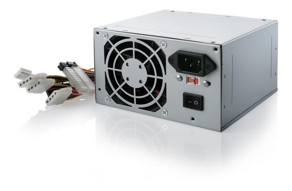 Fonte Computador Atx 500w Nominal 230w Real 24 Pinos Nova
