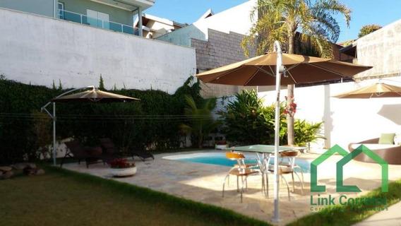 Casa Com 5 Dormitórios À Venda, 343 M² Por R$ 1.800.000 - Parque Lausanne - Valinhos/sp - Ca0325