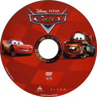 Pelicula Original Disney Pixar Cars 1 Formato Dvd
