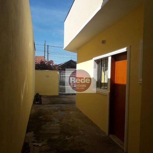 Casa Com 2 Dormitórios À Venda, 58 M² Por R$ 222.000,00 - Loteamento Santa Edwiges - São José Dos Campos/sp - Ca4672