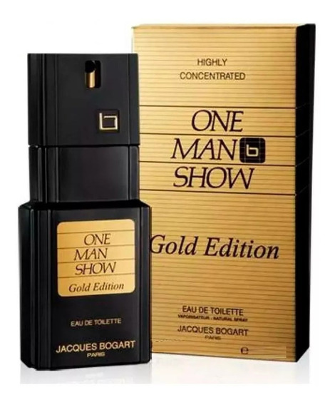 Perfume Jacques Bogart One Man Show Gold Edt 100ml