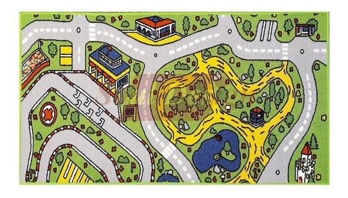 Carpeta Alfombra Infantil Calles Pista 67 X 120 Cm Soul M13