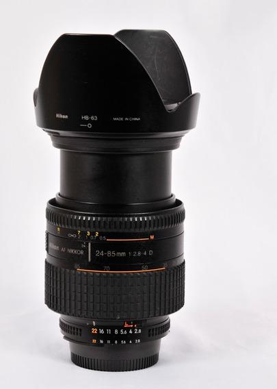 Lente Nikon 24-85 2.8.4..entrega Normal.