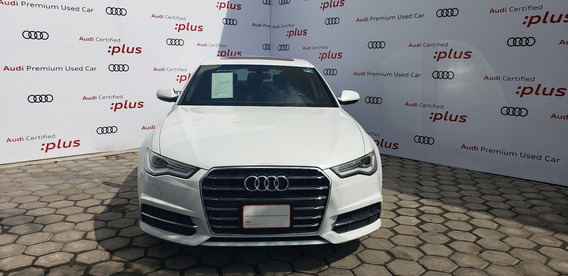 Audi A6 2.0 Tfsi S Line 252hp At 2017 Blanco S: Hn133105