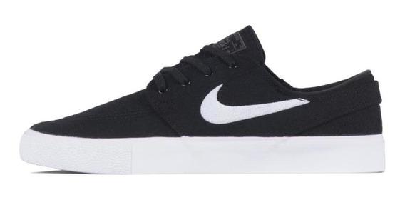 Tênis Nike Sb Zoom Janoski Cnvs Rm Preto E Branco