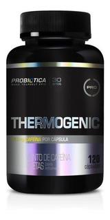 Termogenico Thermogenic 120 Cápsulas Probiótica Caféina