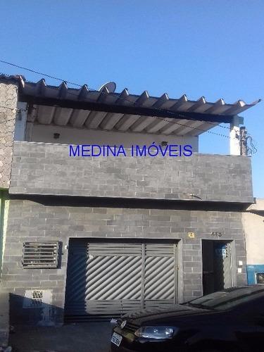 Imagem 1 de 8 de Casa Com Três Cômodos Para Aluguel - Ca00225 - 32686890