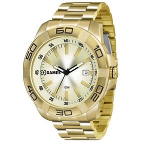 Relógio Masculino X-games Analógico Xmgs1020c1kx - Dourado