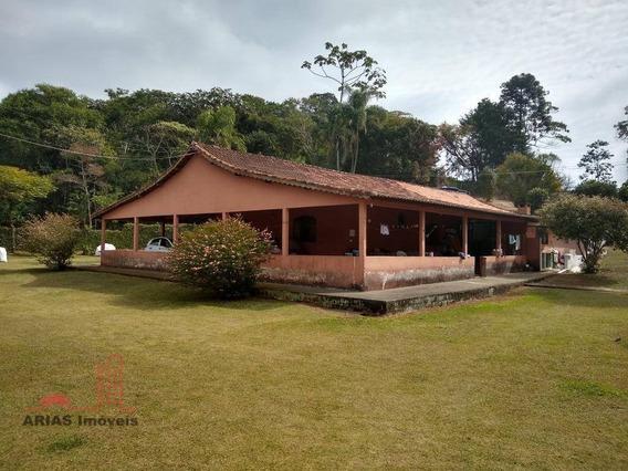 Chácara Com 4 Dormitórios À Venda, 10000 M² Por R$ 850.000 - Remédios - Salesópolis/sp - Ch0009