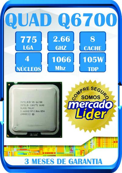 Processador Intel Quad Q6700 Lga775 Cpu. Temos Q9400 Q8400 ¨