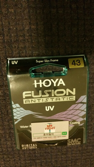 Filtro Hoya Fusion Antistatic Uv 43mm