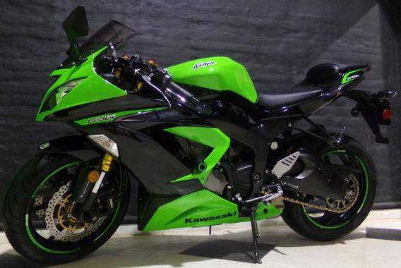 Moto Kawasaki Zx6r 2013