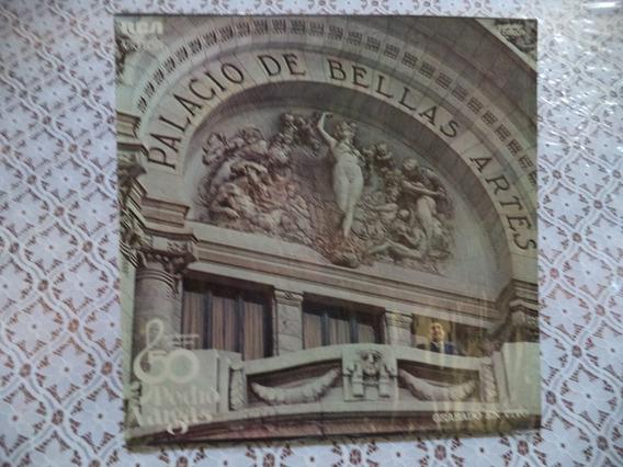 Pedro Vargas En Bellas Artes 50 Aniversario Album 3 Lps
