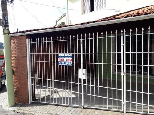 Sobrado Com 3 Dormitórios À Venda, 200 M² Por R$ 790.000,00 - Mooca - São Paulo/sp - So1483