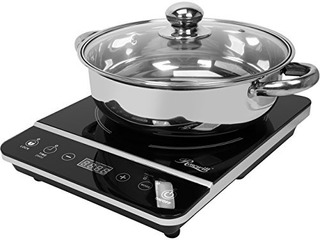 Rosewill Rhai-13001 1800w Cocina De Inducción Estufa Con Cri