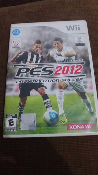 Pro Evolution Soccer 2012 Pes 12 Nintendo Wii Frete R$10