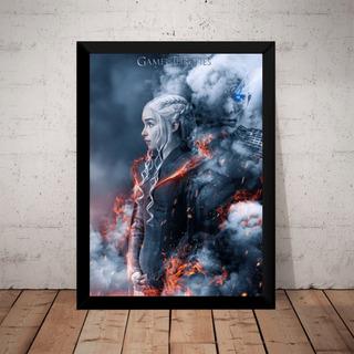 Quadro Game Of Thrones Daenerys Targaryen 7t Artistico